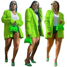 Fashion casual solid color suit coat