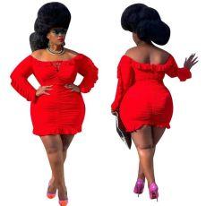 Fashion Ruffle Dress