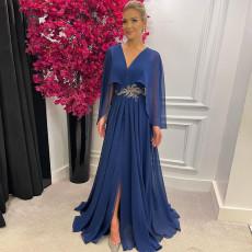 Fashion V-neck slim dress