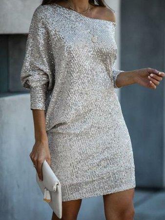 Fashion Sexy Sequin dress