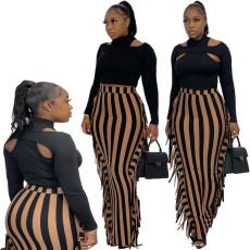 Tassel versatile casual skirt