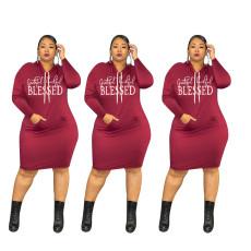 Fashion letter dress