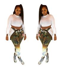 Fashion camouflage pants