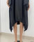 Sexy stitched double pocket dress