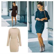 Fashion long sleeve dress