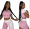 Two piece sport and leisure set
