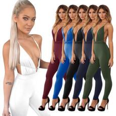 Fashion sexy Strapless Jumpsuit