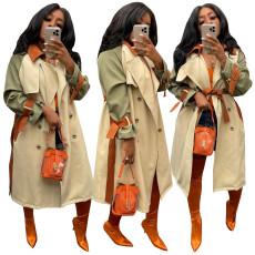 Fashion casual windbreaker coat