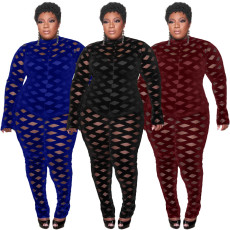 Fashion casual fat clothing Jumpsuit