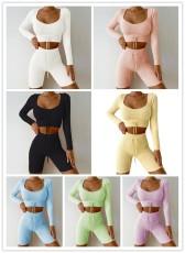 Fashion yoga sports fitness suit