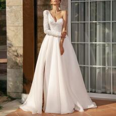 Sexy one shoulder slim dress