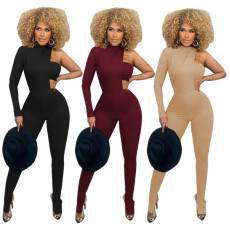 Three piece set of chest wrapped split pants