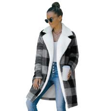 Fashion tweed coat