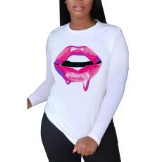 Fashion printed T-shirt