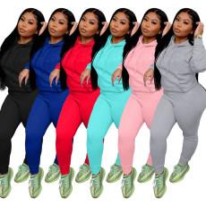 Sportswear slim fit fashion two piece set