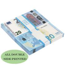 Поддельные евро заготовки 20 Евро на продажу | Поддельные евро для фильмов, Kid Play Euro Ticket