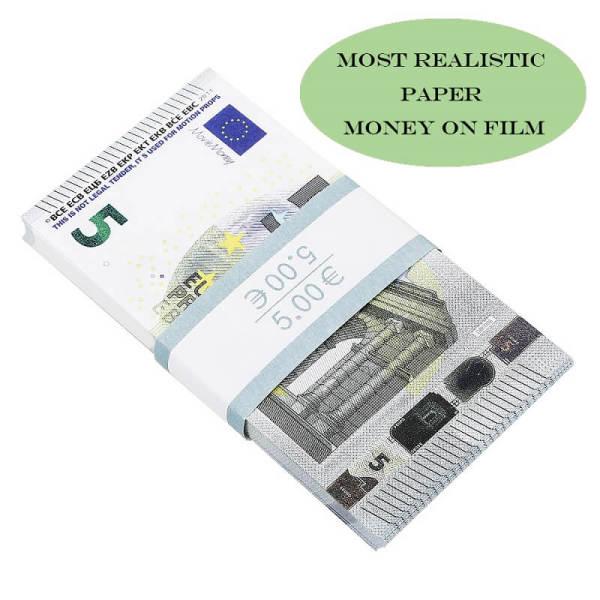 Faux Billet 5 Euro For Sale|Fake Euros For Film ,Kid Play Euro Ticket