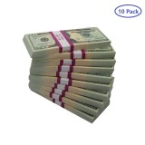 10Pack(1000pcs Notes ) 10000 Dollar Bill