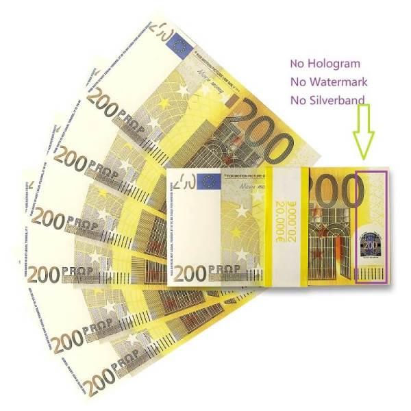 Euro Billets For Sale |€200 Billets Flash Très Réaliste De 200 Euros