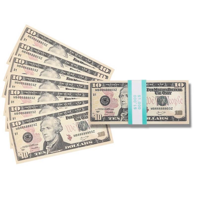Самые реалистичные деньги, фильмы и фальшивые доллары на игровые деньги $ 10