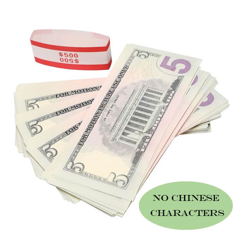 Самые реалистичные деньги, фильмы и фальшивые доллары на игровые деньги $ 5