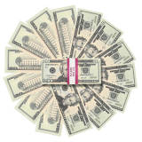 Handmade decoration,prop money,play money us dollar