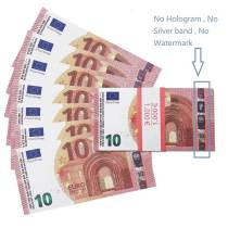 Faux Billet € 10 Для продажи | Поддельные евро для фильма, детский билет евро