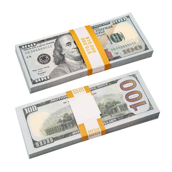 100 Dollar Bill For Sale |Prop Movie Money For Film ,Kid Play ,Games