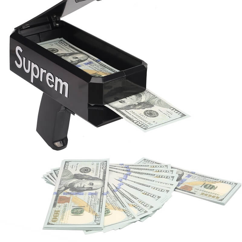 Cash Cannon Money Gun | Супер Money Gun Сделать это Rain Toy Gun