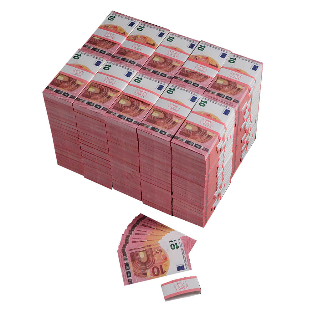 Prop Money Euro For sale|Fake Euros  ,Play Money 10 Euro Tickets