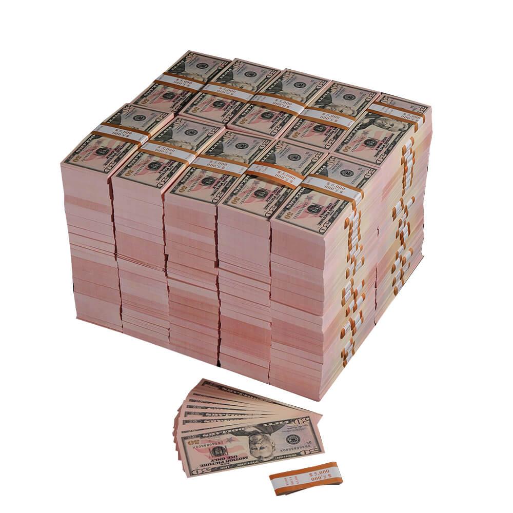 Долларовая банкнота 50 на продажу | Игровые деньги $ 1000000 Full Print