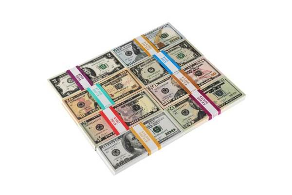 Play Money |Mix Set Bills of 1/2/5/10/20/50/100$ For Kids Play