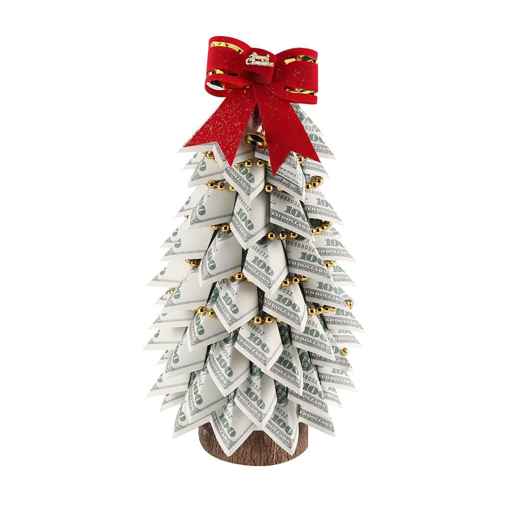 100 долларов старое денежное дерево для украшения дома / Рождество / день рождения