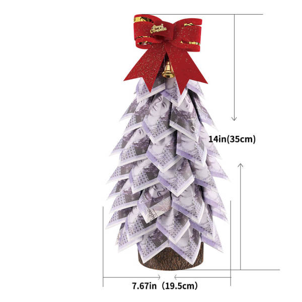 Money Tree Topiary Green Money Gift Home Decoration Money Souvenir Money Tree Dollars Paper tree Business Gift for men and women