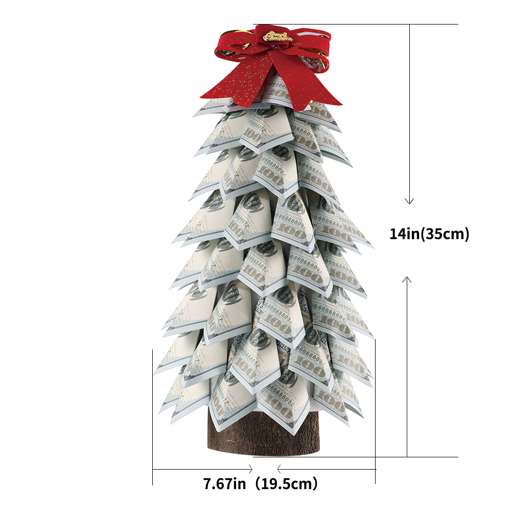 Handmade Money Dollar Tree Topiary Green Money Gift Home Decoration Money Tree Paper tree Business Gift for men and women