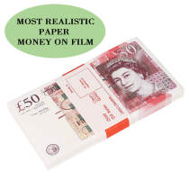 PROP MONEY | UK PROP MONEY  | UK POUNDS GBP BANK 100 50 NOTES Extra Bank Strap - Movies Play Fake Casino  1:1 Size