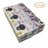 counterfeit 20 pound notes