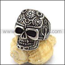 Exquisite Stainless Steel Skull Ring r002900