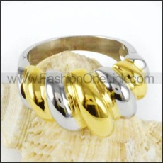 Stainless Steel Fashion Design Ring r000037