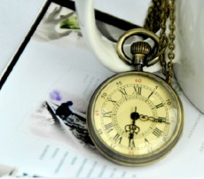 Vintage Pocket Watch Chain PW000338