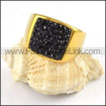 Stainless Steel Square Ring r000225
