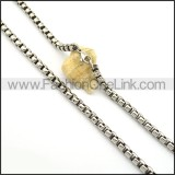 Hot Selling  Stamping Necklace n000679