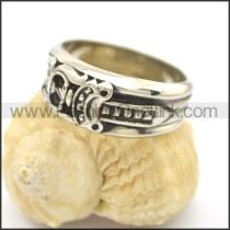Delicate Casting Stainless Steel Ring   r002399