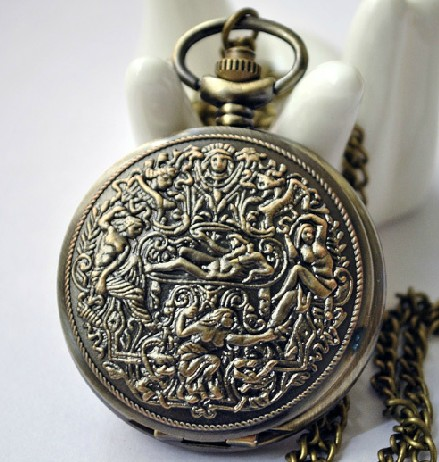 Vintage Pocket Watch Chain PW000227