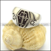 Delicate Stainless Steel Casting Ring  r002232