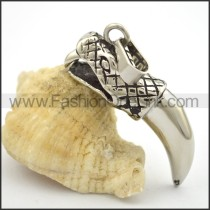 Delicate Stainless Steel Casting Pendant   p001762
