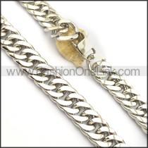 Interlocking Stamping Necklace n000982