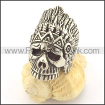 Wizard Stainless Steel Ring  r001418