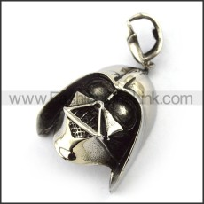Exquisite Stainless Steel Skull Pendant   p004011