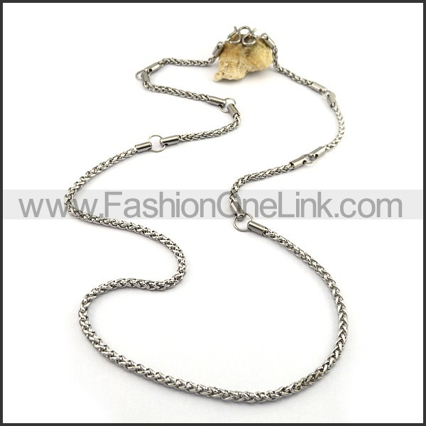 Delicate Twisted Rope Small Chain n001074